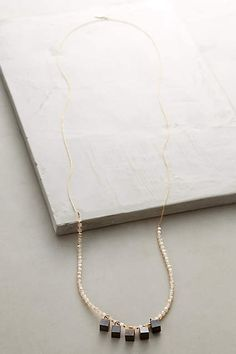 Quartz Marchen Necklace - #anthroregistry