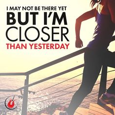 How are you pushing yourself closer to your goal? #runspiration #runningmotivation #runchat