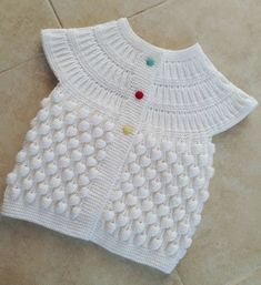 2019 New 52 Baby Weaves and 4 Video Explained Models # Baby Knitting Patterns, Crochet Vest Pattern, Knitting Kits, Free Pattern, Dress Design Patterns, Fabric Patterns, Dress Designs, New 52, Baby Vest