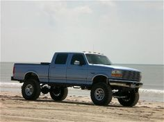 Make it a 7.3 & remove the lift = I think I'm in love  1996 ford f250 quad cab