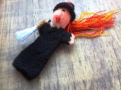 £3.00 Finger Puppet - #Halloween Witch. Scary stuff!