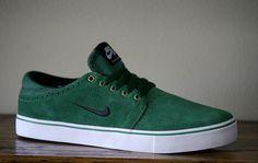 Nike SB Team Edition II-Gorge Green-Black-White