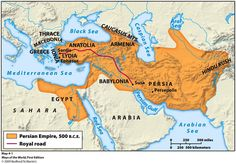 41 Best Persian Empire Map images | Historical maps, Persian empire ...