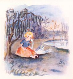 """Dimmalimm, a classic icelandic children's book by Guðmundur Thorsteinsson, """"Muggur""""."""