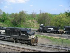 RailPictures.Net Photo: NS 8894 Norfolk Southern GE C40-9W (Dash 9-40CW) at Enola, Pennsylvania by Andrew Johnson