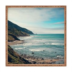 Catherine McDonald California Pacific Coast Highway Square Tray | DENY Designs Home Accessories