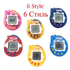 $4.53 - Awesome Hot ! Tamagotchi Electronic Pets Toys 90S Nostalgic 49 Pets in One Virtual Cyber Pet Toy 6 Style Tamagochi - Buy it Now!