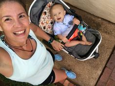 When I found out I was pregnant one thing I was terrified that I wouldn't be able to do again or as often is run, even after Baby came. Training For A 10k, Race Training, Half Marathon Training, Training Plan, Running With Stroller, Running Gear, Running Workouts, Pregnant Mother, Front Runner