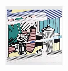 ROY LICHTENSTEIN (1923-1997) | Reflections on Soda Fountain | 1990s, Prints & Multiples | Christie's