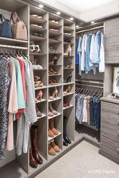 Custom Closets   Custom Closet Organization By ORG Home