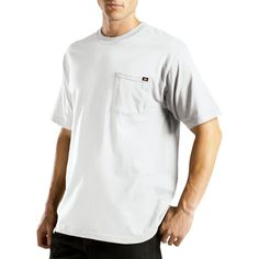 Dickies Men's Big & Tall Short Sleeve Performance Wicking Pocket T-Shirt-