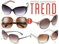 ombre sunglasses trend