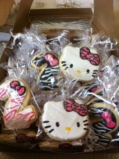 hello kitty AND zebra....couldnt b better :P