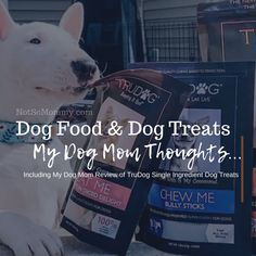 Read my dog mom thoughts about dog food & dog treats, specifically single ingredient dog treats, at Not So Mommy..., a childless dog mom blog. | Dog Food | Dog Treats | All Natural Dog Treats | Single Ingredient Dog Treats | Grain Free Dog Treats | Raw Feeding | Raw Dog Food | TruDog | Dog Mom | Dog Moms | Dog Mommy | Dog Mom Blog | Dog Mom Blogs | Fur Mom | Fur Moms | Fur Mama | Fur Mamas | Fur Mommy | Pet Parent | Pet Parents | Dog Mom Life | Raw Feeding Community | Pet Treat | Pet Treats Cute Puppy Photos, Dog Treats Grain Free, Natural Dog Treats, Pet Treats, Mom Blogs, Organic Recipes, Dog Food Recipes, Parents, Fur