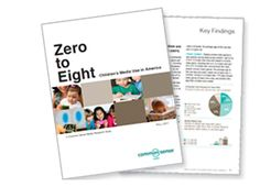 "Zero to Eight -- National study from Common Sense Media talks about media use by children ages 0-8. Also, see more resources from Voice for the Children, an Arizona-based organization ""discussing current issues by considering how they affect our children and the world they will inherit"""