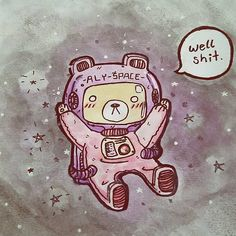 @ladycthulhu made this kawaii drawing for my twitch background and I love it!! I'm so happy with it and her art style is awesome!! Thank you!!  . . . . . . #space #twitch #gamer #gamergirl #gaming #kawaii #bear #anime #cosplaygirl #weeb #otaku