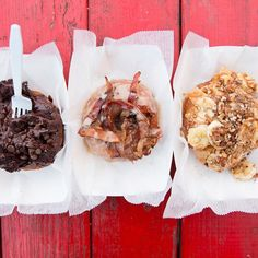 Pin for Later: All the Food Porn You're Missing at SXSW These Insane Doughnuts