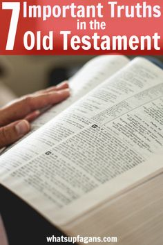 Such a great list of Christian truths and things I hadn't really thought that much about found in the first few books (Pentateuch) of the Bible. I love the Old Testament!