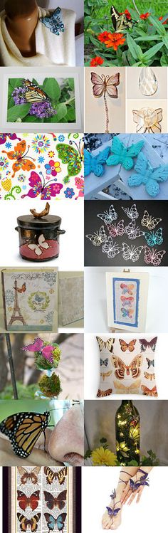 Butterflies are Free by Carol on Etsy--Pinned with TreasuryPin.com
