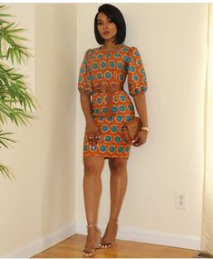 Short And Classy Ankara Gown Styles Amazing Ankara Short Gown Styles African Fashion Ankara, Latest African Fashion Dresses, African Inspired Fashion, African Print Fashion, Africa Fashion, Short African Dresses, African Print Dresses, African Prints, African Fabric