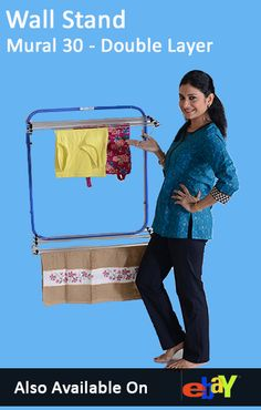 It's easy, space saving and elegant. No huss and fuss, clothes drying stands that everyone can use. Clothes Line, Floor Space, Hostel, Wall, Household, Suits, Medium, Range, Indoor