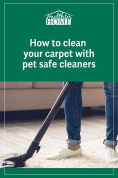How to Naturally Remove Pet Odors from Carpets - Clean your carpet with your pet safe carpet cleaners! Pet stains and odors are bothersome to remove -