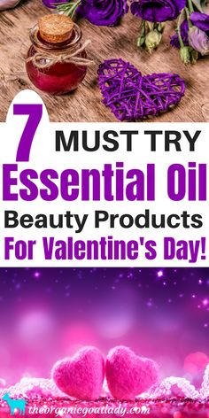 7 Essential Oil Beauty Products for Valentines Day! - The Organic Goat Lady Best Essential Oils, Essential Oil Uses, Lotion Recipe, Perfume Recipes, Aromatherapy Recipes, Essential Oil Diffuser Blends, Diffuser Recipes, Valentines, Goat