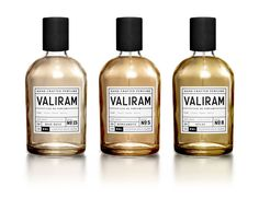Chemist Perfume Packaging - Valiram Perfume Uses a Scientific Branding Aesthetic (GALLERY) Kraft Packaging, Perfume Packaging, Bottle Packaging, Cosmetic Packaging, Beauty Packaging, Paper Packaging, Retail Packaging, Label Design, Branding Design