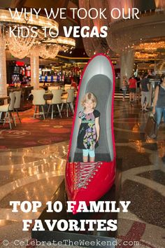 Things to do in Las Vegas as a family with kids