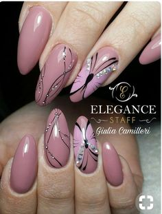 Natürliche Gelnägel I like this shape. Now tap the link to find the hottest products for Better Beau … – Nail Design Ide Cute Easy Nail Designs, Beautiful Nail Designs, Beautiful Nail Art, Nail Art Designs, Cute Simple Nails, Cute Nails, Sexy Nails, Fancy Nails, Pink Nails