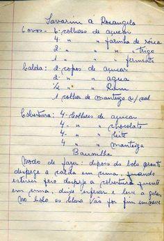 Culinaria -_livro_de_receitas Jam Cookies, Portuguese Recipes, Food To Make, Deserts, Good Food, Food And Drink, Cooking, Chocolates, Decoupage