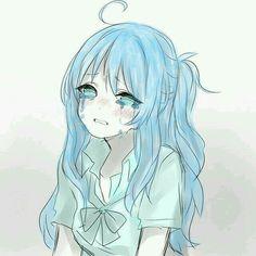 Crying because life sucks Anime Girl Crying, Sad Anime Girl, Anime Art Girl, Anime Oc, Dark Anime, Anime Chibi, Anime Triste, Desu Desu, Cute Anime Character
