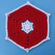 Ravelry: Snowflake Dishcloth pattern by Doni Speigle