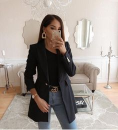 51 Luxury business outfit for women that looks good fashion ladies 51 Luxu . - 51 Luxury business outfit for women that looks good ladies 51 Luxury business outf - Casual Work Outfits, Blazer Outfits, Professional Outfits, Mode Outfits, Work Attire, Classy Outfits, Stylish Outfits, Fall Outfits, Fashion Outfits