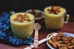 Nagy méretű kép Soup Recipes, Panna Cotta, Food And Drink, Pudding, Dishes, Ethnic Recipes, Desserts, Soups, Autumn