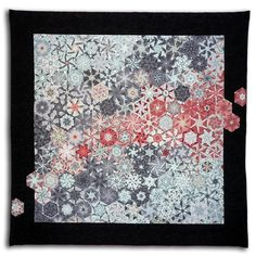 Ice - Bruce Seeds - Quilted Textile Mosaics