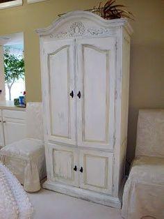 Un armario donde esconder el televisor.