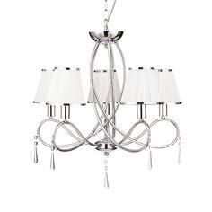 Производитель: Arte Lamp; Коллекция: Logico; Количество ламп: 5; Мощность лампы, W: 40; Общая мощность, W: 200; Площадь освещения, м2: 11,11; Тип лампочки (основной): Накаливания; Тип цоколя: E14; Напряжение, V: 220; Степень защиты, IP: 20