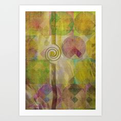 Simplicity Art Print by mimulux Framed Art Prints, Poster Prints, Posters, Abstract Geometric Art, Print Artist, Cool Artwork, Wall Tapestry, Metal, Fine Art America