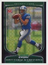 2009 Bowman Chrome Matthew Stafford RC XFRACTOR #214/250