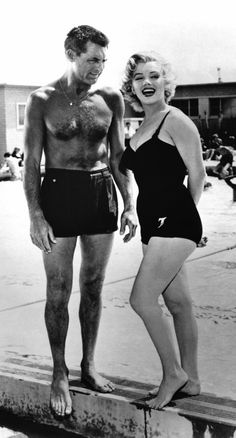 Cary Grant, Marilyn Monroe - Monkey Business 1952