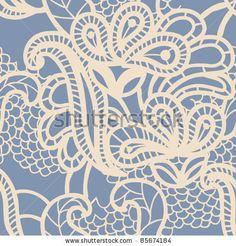 Vintage Seamless Pattern. Stock Vector 57966049 : Shutterstock