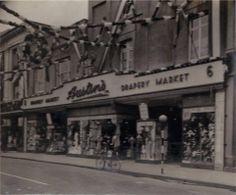 Austins Shop Front, King George V Jubilee - 1935 Newton Abbot, King George, Store, Larger, Shop