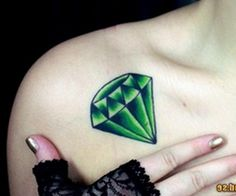 Emerald stone for my son