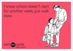 BAHAHAHA! Not a bad idea after the day we've had...they so need to go back to school.