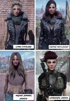 Femshepping's Wanderer Fashion Collection - Vanilla and CBBE at Fallout 4 Nexus - Mods and community