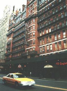 Chelsea Hotel, W. 23rd St. I've never been inside but in the 1980s and 90s I used to go to the record store across the street from it all the time - Midnight Records.