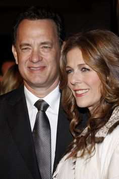 INSPIRING COUPLES<3: Tom Hanks & Rita Wilson have been married since 1988!