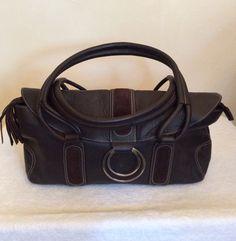 BRAND NEW BILLY BAG LONDON DARK BROWN LEATHER SHOULDER BAG - Whispers Dress Agency - Shoulder Bags - £45 Leather Shoulder Bag, Shoulder Bags, York Uk, Womens Designer Bags, Dark Brown Leather, Bag Sale, Fashion Bags, Jimmy Choo, Dior