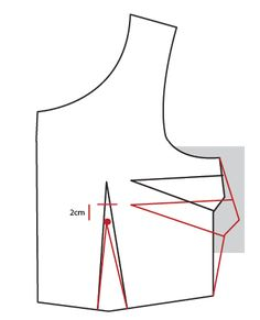 A Bust Dart Adjustment  will need to be done when the bust dart is either too high or too low.